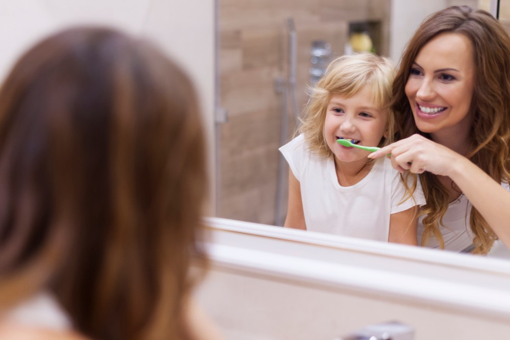 Correcto cepillado dental. Consejos para cepillar los dientes a niños